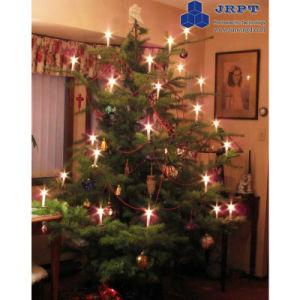 Tea Light Candle Greeting High Quality LED Christmas Tree