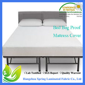 Anti-Allergenic and Waterproof Zippered Vinyl Mattress Cover pictures & photos