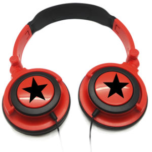 Hot Selling Star Headphone Promotional 3.5mm Over Ear Headphone pictures & photos