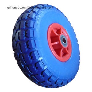 12 Inches High Load Capacity Reclaimed Rubber Solid Wheel pictures & photos