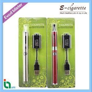 Bottom Coil Evod Twist E-Cigarette in Blister Pack