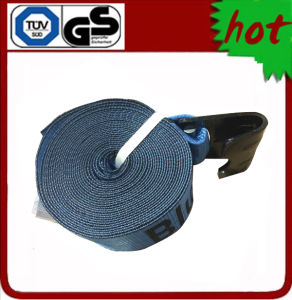 "4"" X 30′ Winch Strap with Flat Hook pictures & photos"