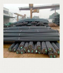 Hot Rolling Reinforced Steel Rebar, Tmt Steel Bar pictures & photos