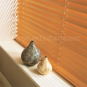 Wireless Remote Motorized Wooden Venetian Blinds pictures & photos