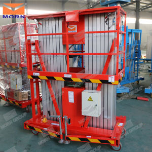 10m Double Mast Hydraulic Aluminum Lift Platform pictures & photos