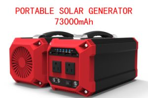 270wh Portable Mini Solar Power Generator with Solar Panel off-Grid System pictures & photos