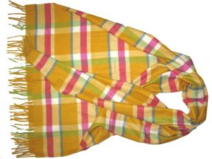 Cashmere Plaid Woven Shawls pictures & photos