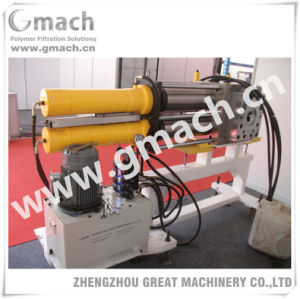 Backflush Plastic Filter-Plastic Extrusion Back Flush Screen Changer pictures & photos