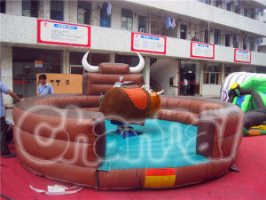 Hot Sale Inflatable Mechanical Bull for Fun Bull 02 pictures & photos