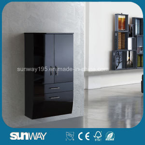Modern Bathroom Wall Hung Bathroom Cabinet with Good Quality (SW-1315) pictures & photos