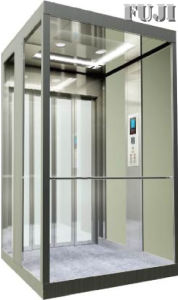 Villa Elevator / Lift with Transparent Glass Car Wall pictures & photos