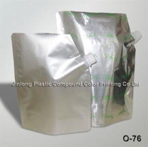 Aluminum Foil Liquid Stand up Pouch with Spout, Detergent Bag pictures & photos