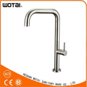 Zinc Handle Brass Main Body Kitchen Faucet pictures & photos