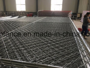 Temporary Chain Link Fencing Panels 1830mm X 3650mm 6FT X 10FT pictures & photos