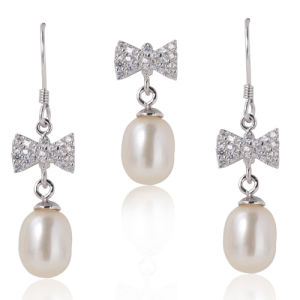 Pearl Jewelry Sets, White Pearls