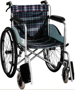 Steel Manual Wheelchair Dkb-2 pictures & photos