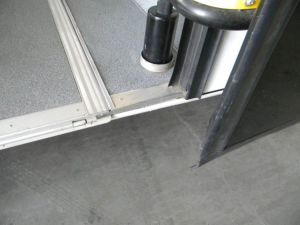Manual Wheelchair Ramp for City Bus (FMWR-1A) pictures & photos
