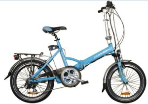 "20"" 36V 250W Mini Folded Electric Bike for Lady pictures & photos"