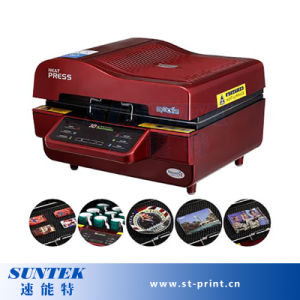 Brand New 3D Vacuum Sublimation Heat Press Transfer Machine pictures & photos