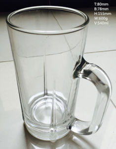 High Quality New Design Cheap Glass Cup Glassware Hot Sale Glass Beer Cup Kb-Hn03158 pictures & photos