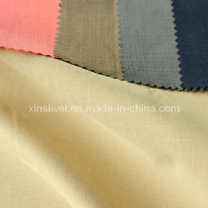 Check Polyester Nylon Cotton Fabric (SL3066) pictures & photos