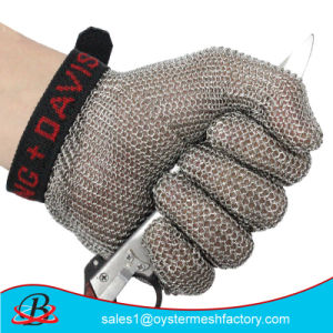 Butcher Protection Stainless Steel Metal Mesh Safety Gloves pictures & photos