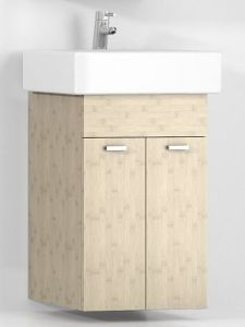 Bamboo Wall Mounted Bathroom Vanity Cabinet pictures & photos