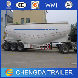 3 Axles 55m3 65t Cement Bulker Tanker Trailer for Oman pictures & photos