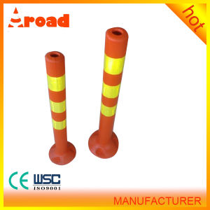 Lower Factoty Price Height 750mm Orange Flexible Warning Post pictures & photos
