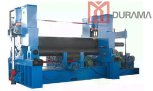 CNC Plate Bending Machine, Rolling Machine, 3 -Roller Plate Rolling Machine pictures & photos