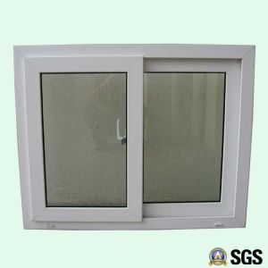 Good Quality White Colour UPVC Profile Sliding Window, UPVC Window, Window K02010 pictures & photos