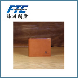 China Fashion Pure Genuine Leather Money Clip Wallet pictures & photos