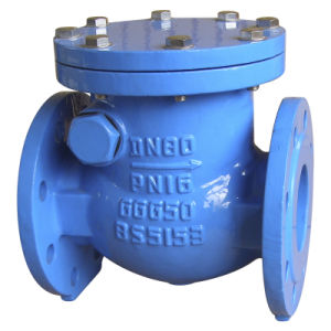Swing Check Valve, BS5153 Pn16 pictures & photos