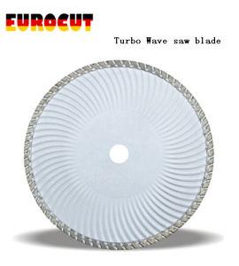 Diamond Saw Blade with Turbo Wave
