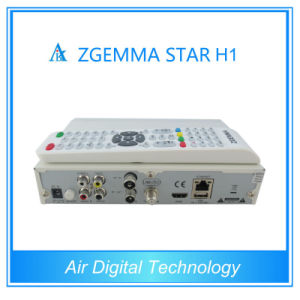 Zgemma Star Digital Vision Receiver Zgemma-Star H1 Combo DVB-C Satellite TV pictures & photos