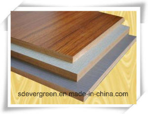 Chinese Melamine MDF for Furniture with High Quality pictures & photos