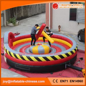 Inflatable Interactive Hv Gladiator Fight Roust Game (T7-123) pictures & photos