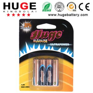 1.5V AAA Lr03 Alkaline Battery Primary Battery pictures & photos