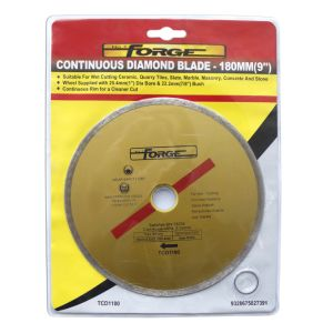 "180mm (7"") Cutting Disc Continuous Rim Diamond Blades pictures & photos"