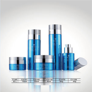 Luxury 120ml Aluminum & Glass & Plastic Jars and Airless Bottles for Facial Cream Packaging pictures & photos