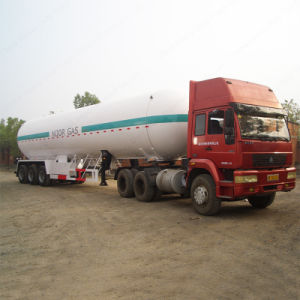 2017 Hot 50000L LPG Gas Semi Trailer for Nigeria Transportation pictures & photos