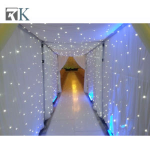 Light up Cloth LED Star Curtain Backdrop Wedding Decoration pictures & photos