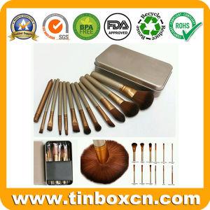 Makeup Brush Set Metal Tin for Cosmetics Packaging Boxes pictures & photos