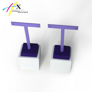 Customized Wooden Jewelry Display Stand Set Design for Earring and Ring pictures & photos
