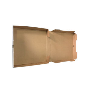 Color Corrugated Industrial Use Paper Pizza Box with Custom Logoc pictures & photos