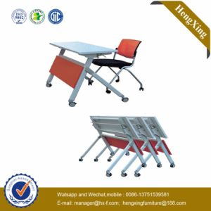 Fashion School Furniture Aluminum Legs Folding Table (HX-5D191) pictures & photos