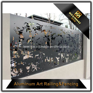 Laser Cutting Decorative Perforated Sheet Metal Garden Fence pictures & photos