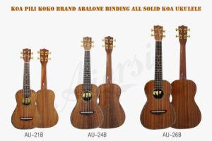 Pilikoko All Solid Koa Ukulele for Adults Wholesale Musical Instrument pictures & photos