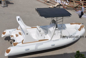 Liya 19FT/5.8m Best Rigid Hull Inflatable Dinghy Boat pictures & photos