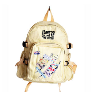 Canvas Zipper Pouch 12 Oz Canvas Backpack pictures & photos